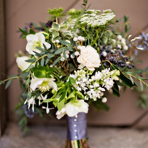 Rustic, Romantic Bridal Bouquet