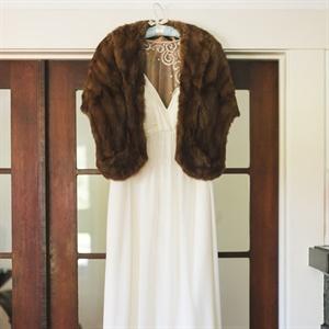 Vintage-Inspired Bridal Look