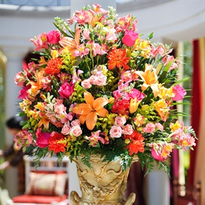 Bright Ceremony Flowers
