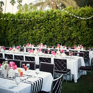 Modern Outdoor Reception
