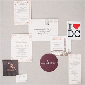 Romantic Washington, DC, Stationery