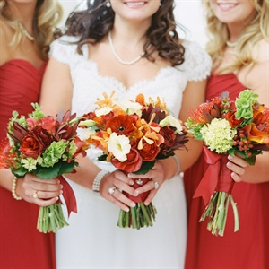 Fall Colors Bouquets