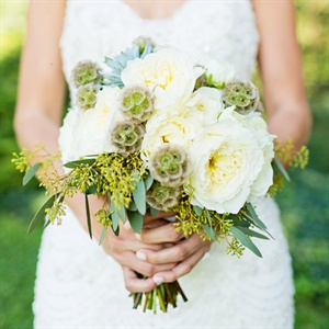 Earth-Toned Bridal Bouquet