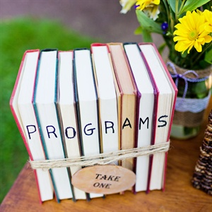 Ceremony Program Display