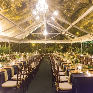 Tented Outdoor Reception
