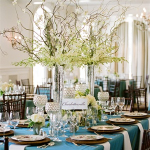 Romantic Reception Decor