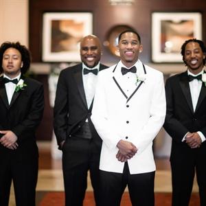 Classic Black Tie Groomsmen Look