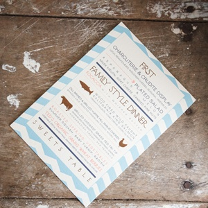 Farm-to-Table Wedding Menu