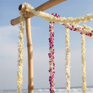 Orchid Garland Ceremony Decoration