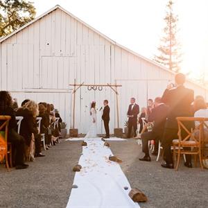 Rustic Outdoor Ceremony