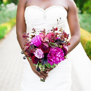 Fuchisa Bridal Bouquet