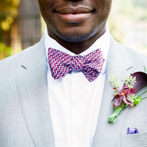 Patterned Bow Tie