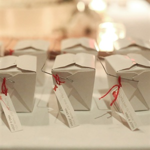 DIY Take-Out Favors