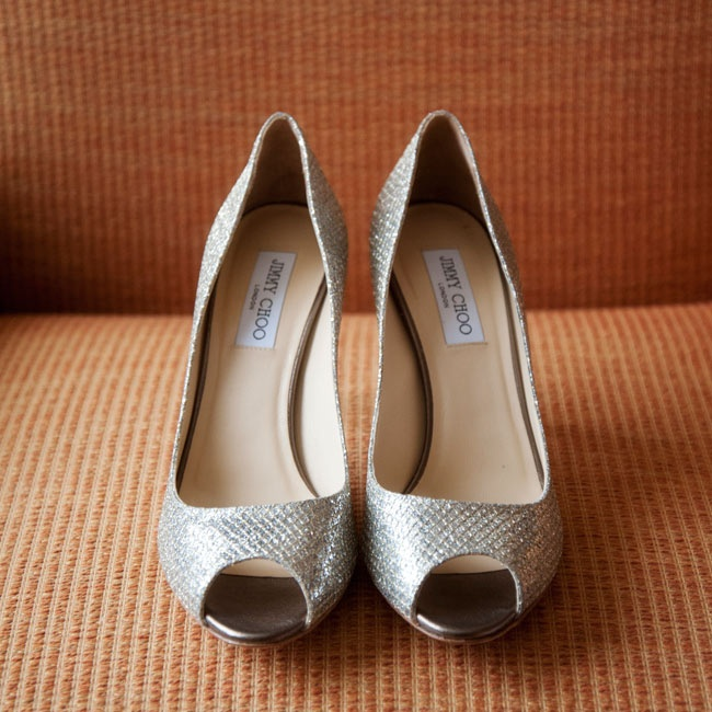 Lauren chose her Jimmy Choo metallic pumps with the hope that she'd wear them again (and she has!).