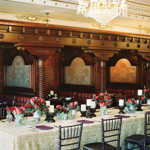 Gothic Reception Decor