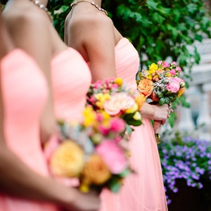 Whimsical Bridesmaid Bouquets