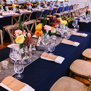 Navy Reception Tables