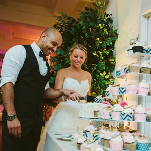 Cutting Cake and Cupcakes