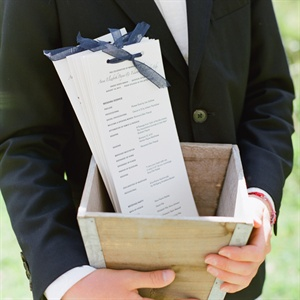 Long, Simple Ceremony Programs