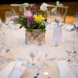 Colorful Rustic Centerpieces