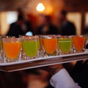 Melon Puree Shots