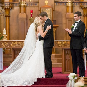 Traditional Catholic Ceremony Kiss