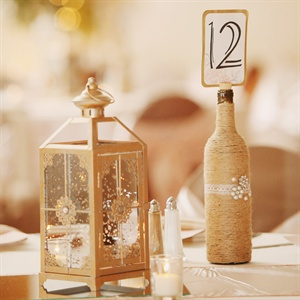 DIY Rustic Table Numbers