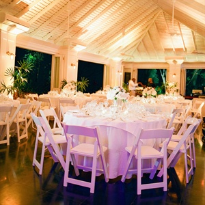 White Reception Space