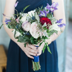 Soft Bridesmaids Bouquets