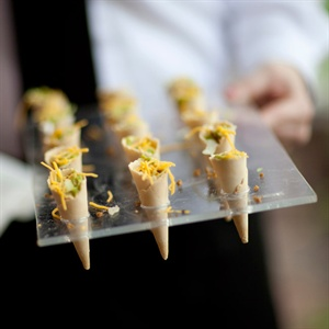 Taco Cones Appetizers