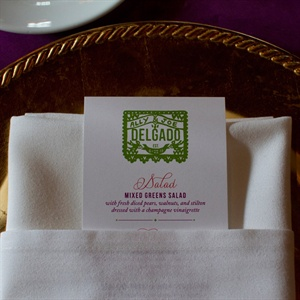 Bright Menu Cards