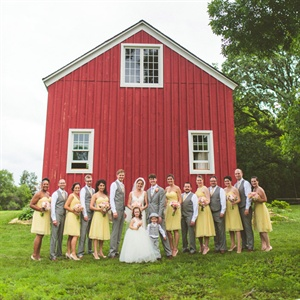 Barn Wedding Party Look