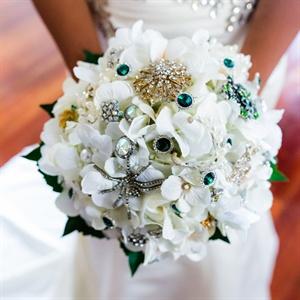 Coral Wedding Reception