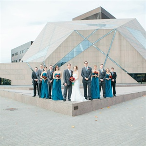 Wedding Party at McNamara Alumni Center