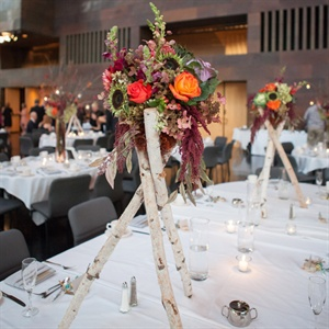 Tree Branch Fall Centerpieces