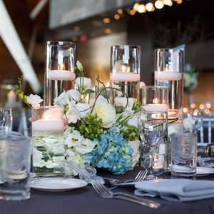 Candle and Floral Centerpieces