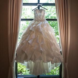 Pnina Tornai Strapless Gown