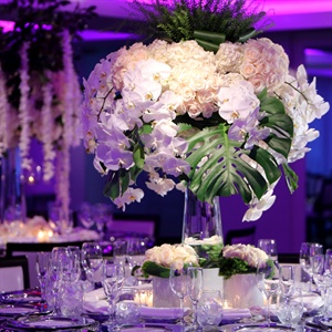 Rose and Orchid Centerpieces