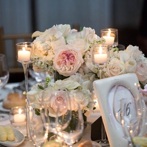 Romantic Floral Centerpieces