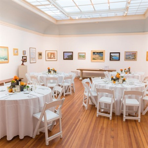 Simple Art Gallery Reception