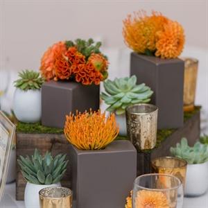 Modern Floral Centerpieces
