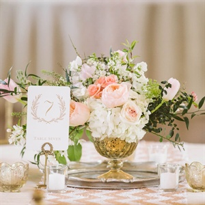 Romantic Gold Centerpieces