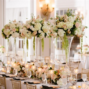 Tall Pastel Centerpieces