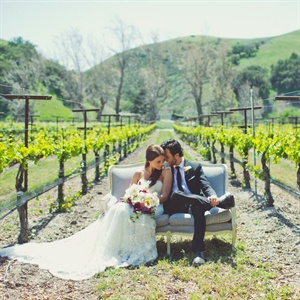 Vineyard Couple Photo