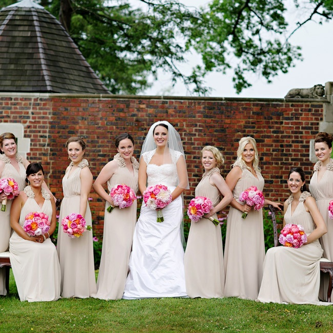 A whimsical glamorous wedding at pinecroft at crosley for Wedding dress rental cincinnati ohio