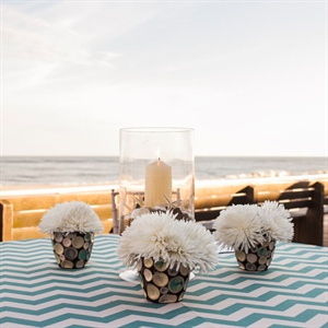 Beach-Inspired Centerpieces