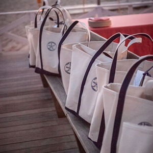 Canvas Welcome Bags