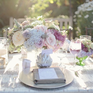 Silver Tablescape