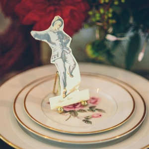 Antique-Inspired Place Setting