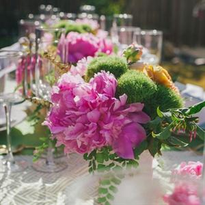 Vibrant Floral Centerpieces